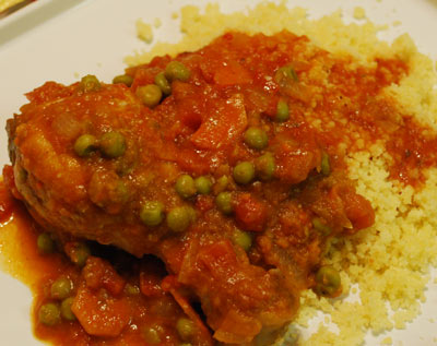 CousCous with chicken - International Cooking Blog