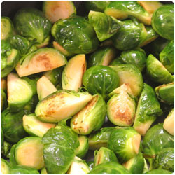 Brussel Spouts with Cranberry - International Cooking Blog
