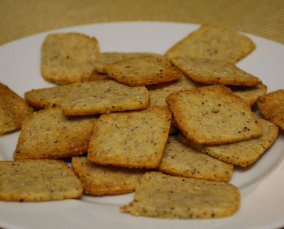 Parmesan Cheese Crackers - International Cooking Blog