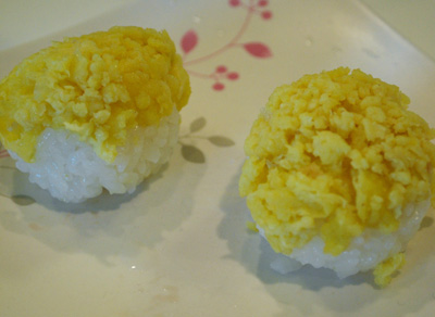 Eggs Temari-Sushi - The International Cooking Blog