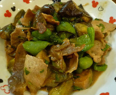 Pork with Vegetables and Sweet Miso - International Cooking Blog