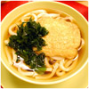 udon noodles with fried tofu pouches - The International Cooking Blog