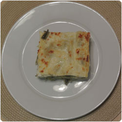 Artichoke Lasagna - international cooking blog