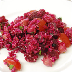 Beet and Quinoa Salad - International Cooking Blog