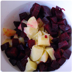 Beet and Potatoes Salad - The International Cooking Blog
