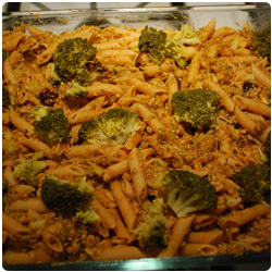 The International Cooking Blog - Oven Broccoli Pasta