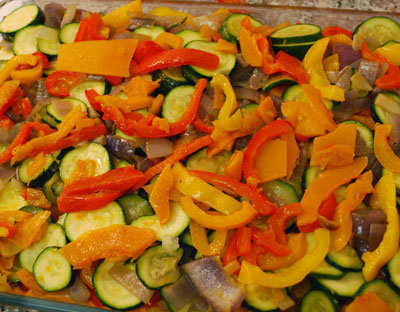 Veggies Casserole - The International Cooking Blog