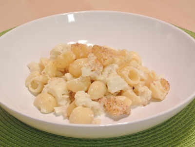 Cauliflower pasta - International Cooking Blog