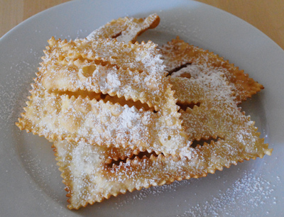 Chiacchiere - international cooking blog
