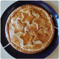 Amaretti chocolate and pears pie - Internatioanl Cooking Blog