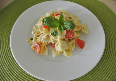 cold pasta - International Cooking Blog