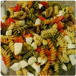 Cold Pasta with Grilled Veggies - International Cooking Blog