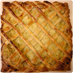 Flamiche - Salty Pie with Leek - International Cooking Blog