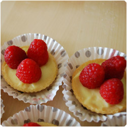 Mini Pie with Fresh Fruit - International Cooking Blog