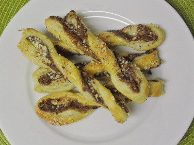 Puff Pastry Nutella&Almond Twist