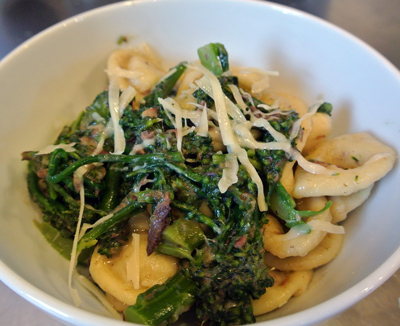Orecchiette with Broccoli Sauce -International Cooking Blog