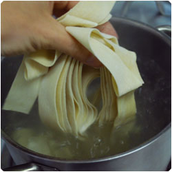 fresh tomato pappardelle - internatiolnal cooking blog
