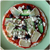 Pizza asparagus and Brie - The International Cooking Blog