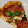 Pizza with speck - The International Cooking Blog