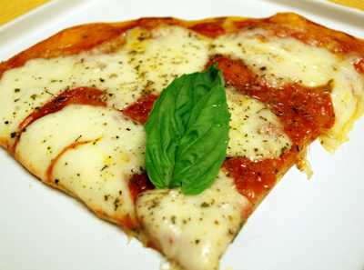 The International Cooking Blog - Pizza Margherita