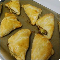 Potato, Prosciutto & Mushrooms Pastry - International cooking Blog