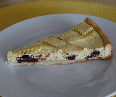 how to make ricotta pie