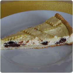 Ricotta Pie - The International Cooking Blog