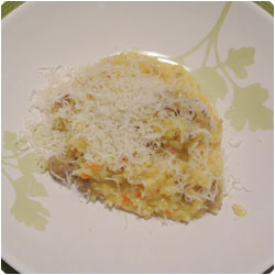 Sausage risotto - international cooking blog