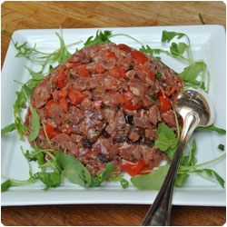 Tuna Tartare - Cooking with Enrica Rocca