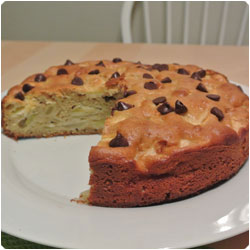 yogurt and apple cake - International Cooking Blog